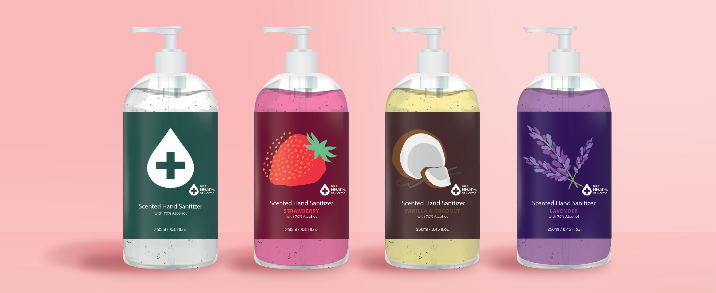 Hand Sanitizer Illustration 002 1 - OEM ODM Cosmetic Manufacture