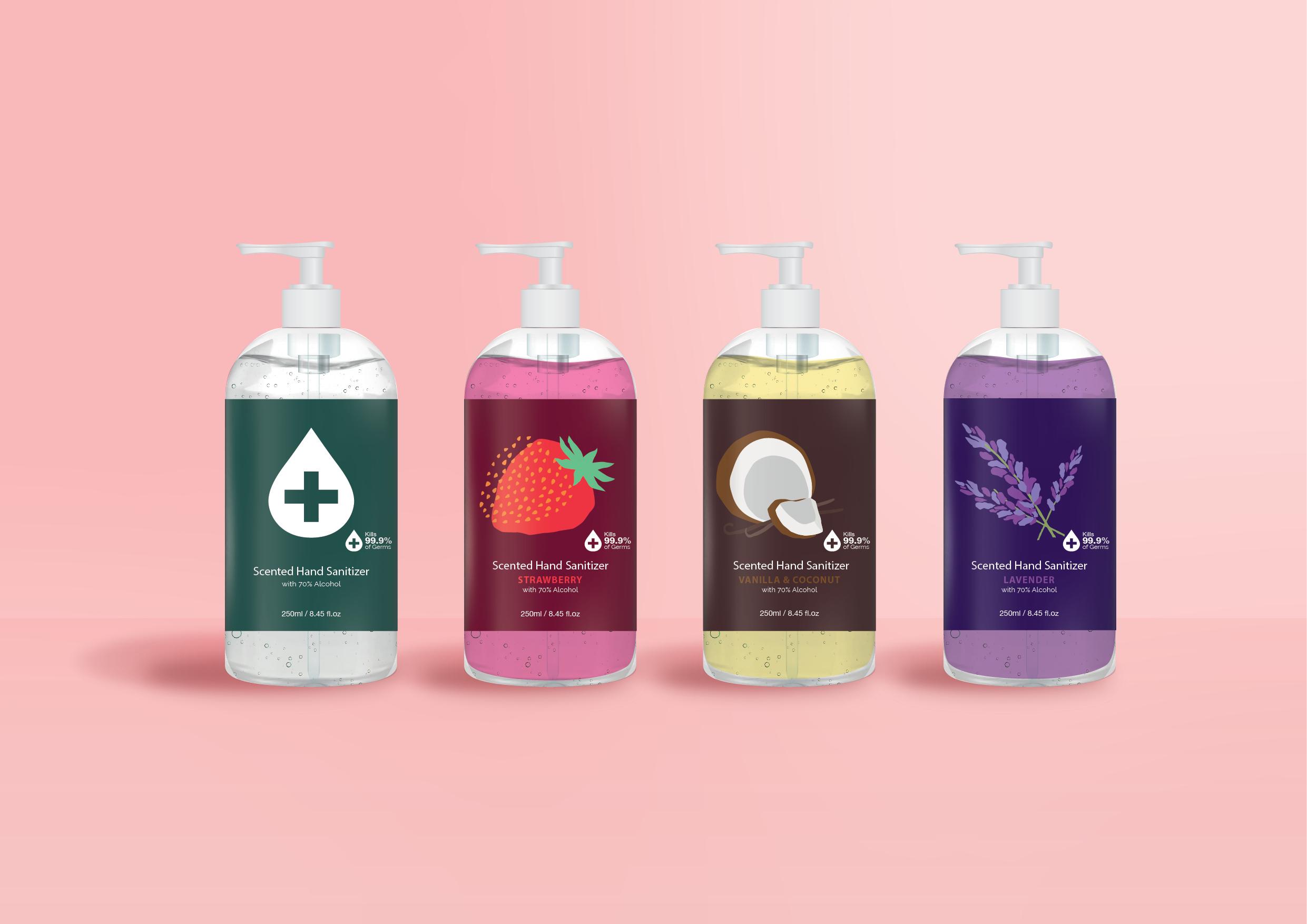 Hand Sanitizer Illustration 002 - OEM ODM Cosmetic Manufacture